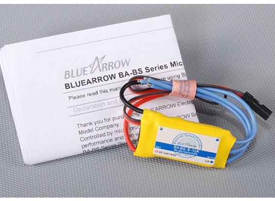 青い矢印12Aブラシレスコントローラー