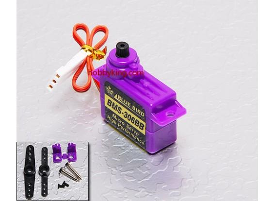 BMS-306BBマイクロサーボ1.1キロ/ .10sec / 6.6グラム