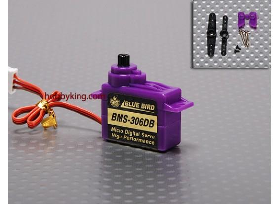 BMS-306DBマイクロサーボ1.1キロ/ .12sec / 6.6グラム