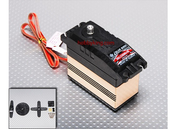 BMS-L530DMGplusHS 1/5スケールデジタルサーボ(MG)19.8キロ/ .15sec / 140.5グラム