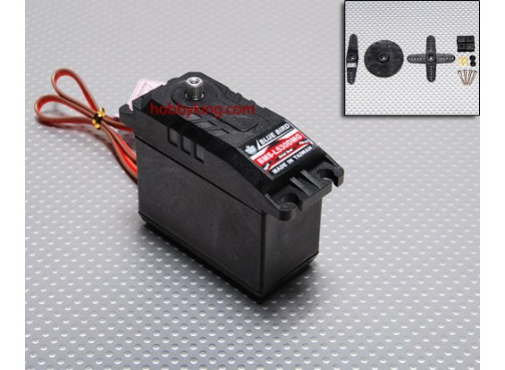 BMS-L530DMGデジタルサーボ(MG)19.8キロ/ .15sec / 140.5グラム