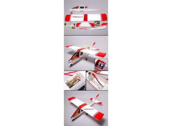 ビジー・ビー電動飛行機W /モーター、サーボ、ESC(FPVに最適)