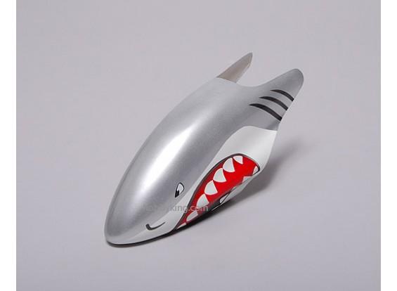 サメ -  450ヘリコプター用ファイバーグラスキャノピー