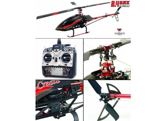 2801PRO 2.4GHzのトランスミッタ/ワットのWalkera Creata 400 3Dヘリ