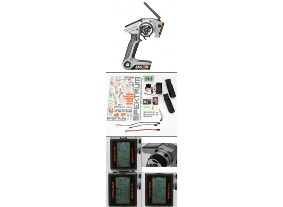 テレメトリとDX3S 3チャンネルDSM表面ラジオ