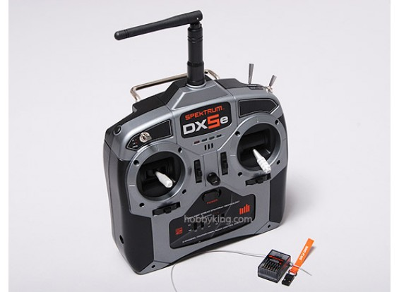 DX5e 5CHフルレンジTX / RX専用モード1