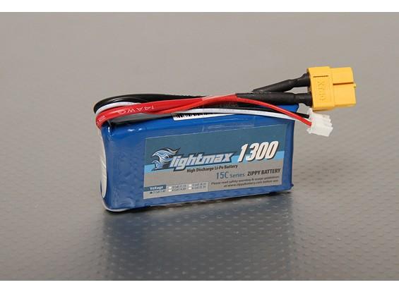 ジッピーFlightmax 1300mAh 2S1P 15~25℃