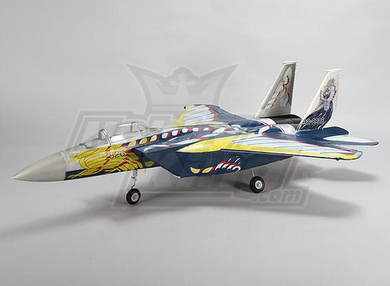 F-15 70ミリメートルEDFジェットワットが後退/(ARF)