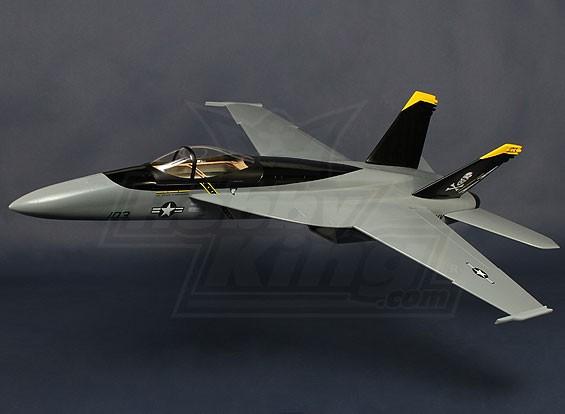 F-18 EDF 90ミリメートルジェットファイバーグラス920ミリメートル(ARF)