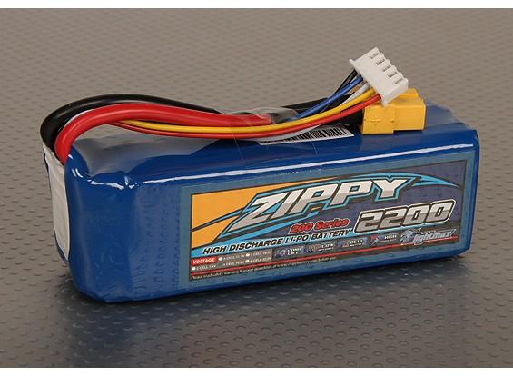 ジッピーFlightmax 2200mAhの4S1P 20C