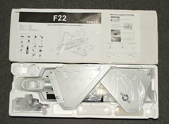 SCRATCH / DENT F-22 EDFジェット70ミリメートルEPO(ARF)