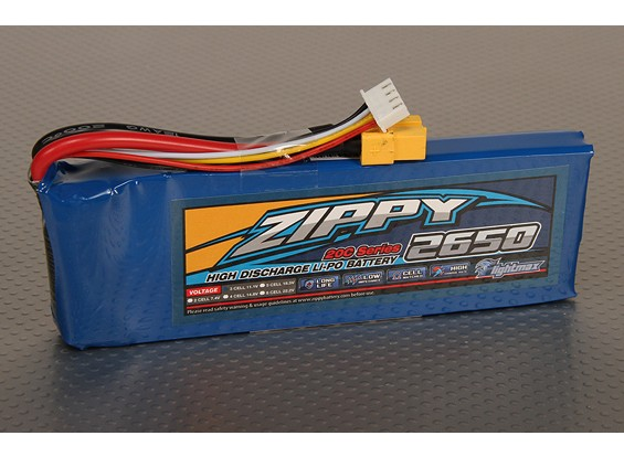 ジッピーFlightmax 2650mAh 3S1P 20C