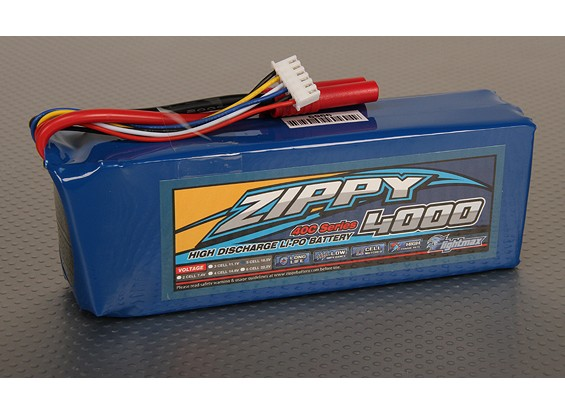 ジッピーFlightmax 4000mAh 5S1P 40C