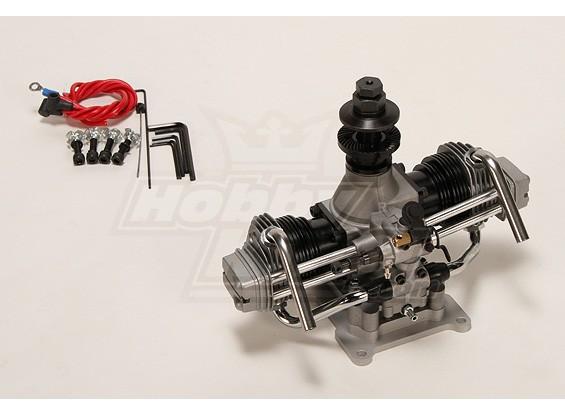 ASP FT160ARツインシリンダーグローエンジン