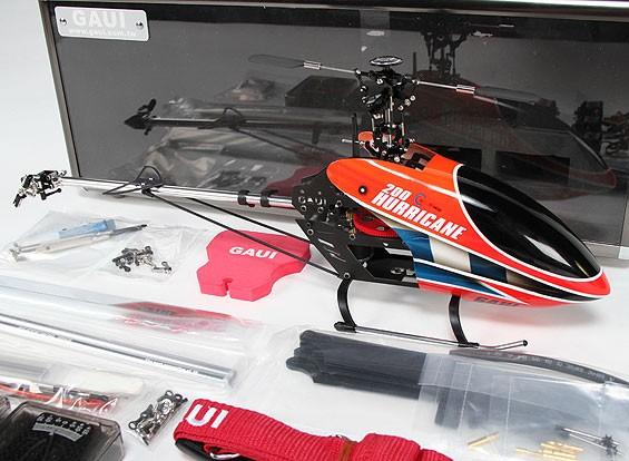 GAUIハリケーン200 EP 3Dヘリコプターデラックスコンボ - レッド