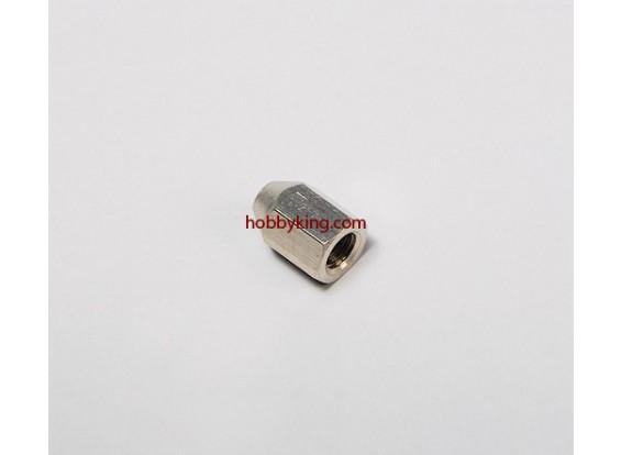 スピナーズM8x1.25-M3用の真鍮ナット(1個)