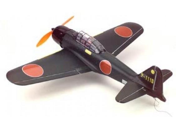 GWS ZERO第二次世界大戦の戦闘機(シルバー)