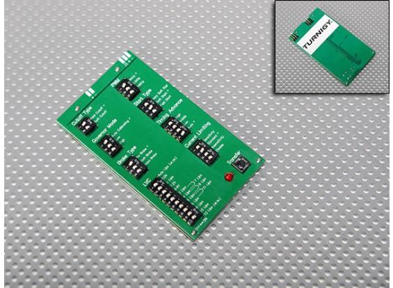 Turnigyモンスター-2000 ESCのプログラミングカード