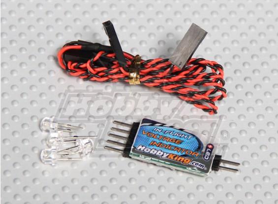 機内バランス電圧インジケータHobbyking 2-4s