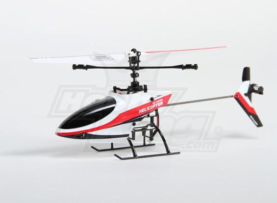 HobbyKing HK-190 2.4GHzの4Chの固定ピッチのヘリコプター(RTF-モード1)