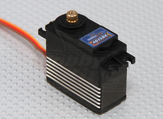 Hobbyking 4015DXコアレスデジタルMGサーボ(HV)60グラム/ 0.14s / 15キロ