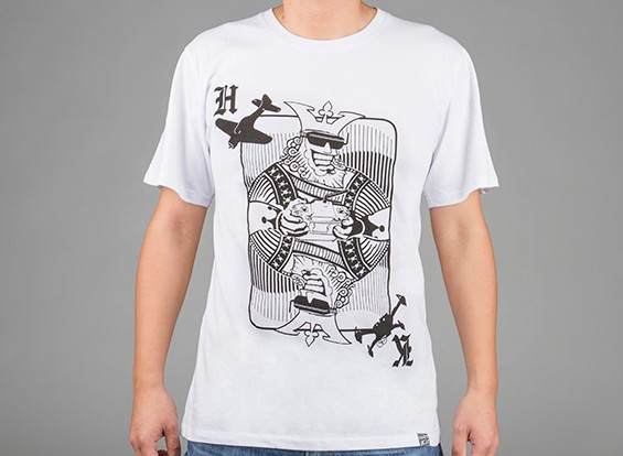 HobbyKingアパレルキングカードコットンシャツ(XXXL)