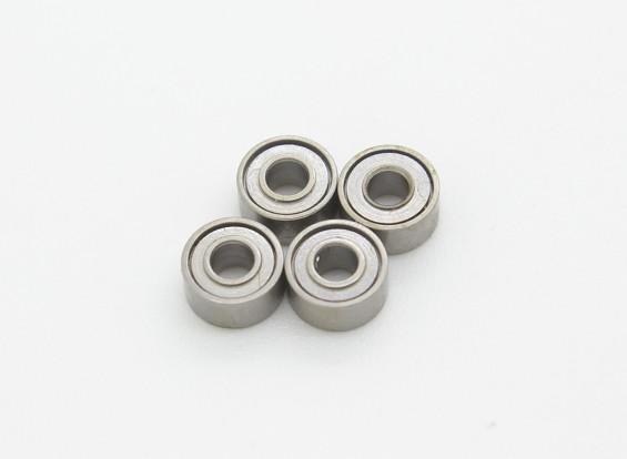 アサルト450 DFC  -  2 * 5 * 2.5(4本)をベアリング