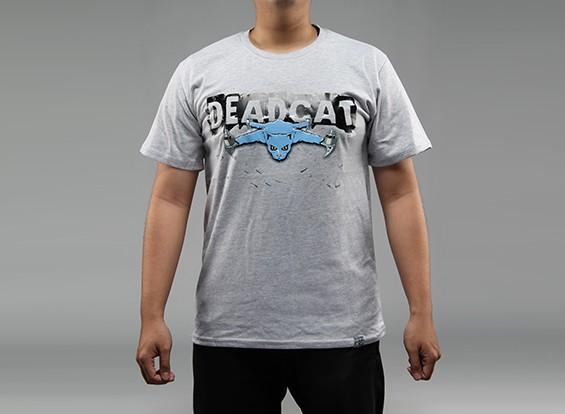 HobbyKingアパレルDeadCat 100pcntのコットンシャツ(XXL)