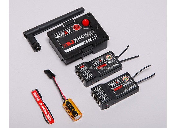 JR W /モジュール&RXのためのX8 2.4GHzのコンボパック