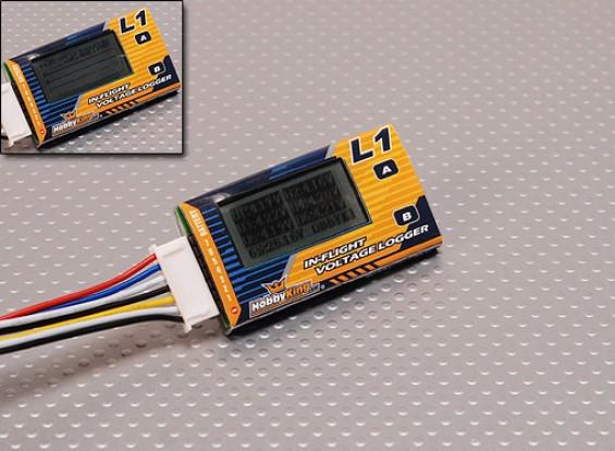 機内電圧ロガー&健康アナライザ(2S-6S)