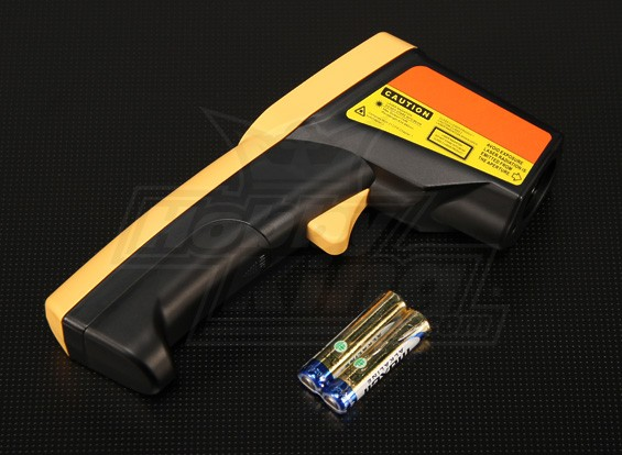 Turnigyレーザーは、赤外線温度計ガイド