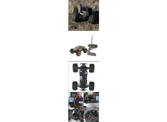 1/18 Rammunitionのモンスタートラック