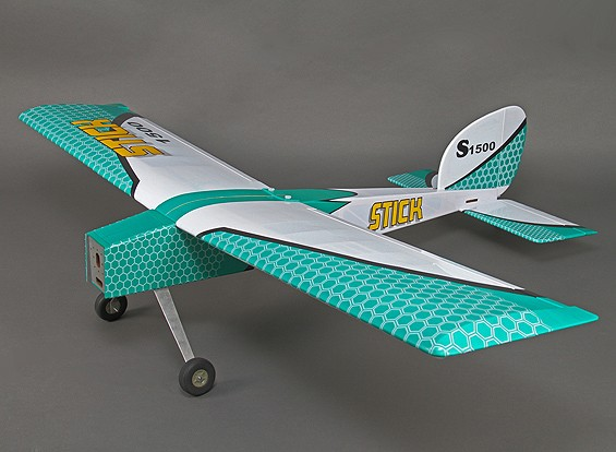 スティック1500 EP / GP 46サイズ(スポーツ版)1540ミリメートル(ARF)