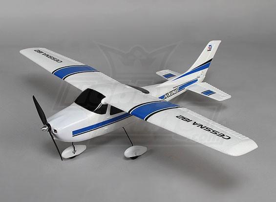 セスナ182軽飛行機の775ミリメートルEPOプラグ - アンド - フライ