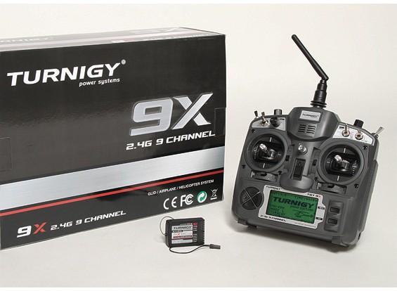 Turnigy 9X 9CHトランスミッターワット/モジュール&8chのレシーバー(モード2)(V2ファームウェア)