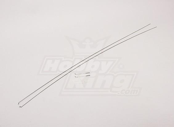 Skyclimber EPOグライダー - 交換用のプッシュプルワイヤーセット