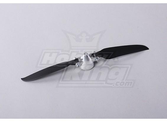 折りたたみプロペラW /合金ハブ35ミリメートル/ 3ミリメートルシャフト9時間×5日間(1個)