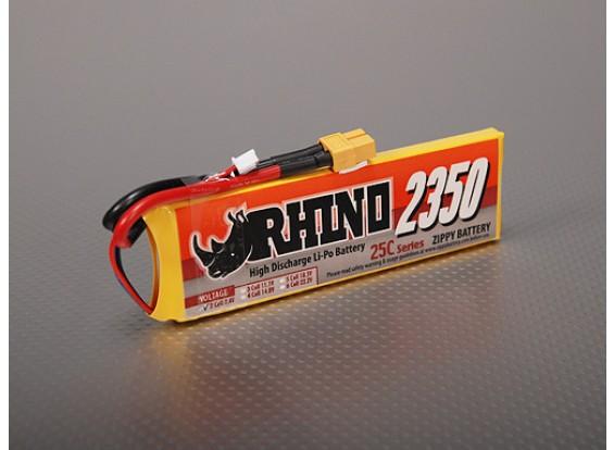 Rhinoの2350mAh 2S1P 25C Lipolyパック