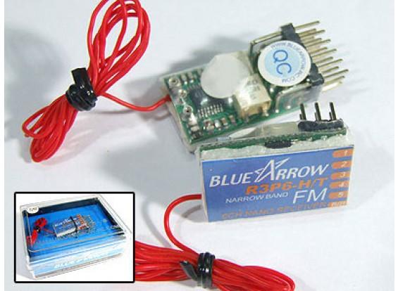 アロー6CHの3.9グラムの40MHzのFMマイクロレシーバー