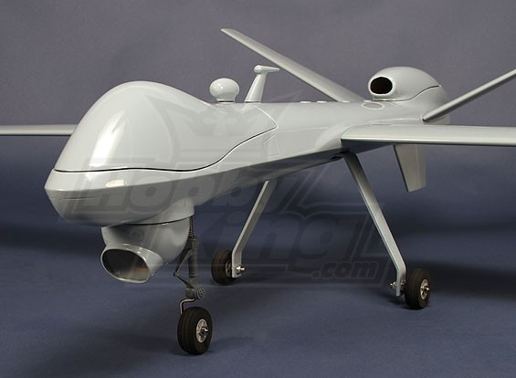 MQ-9リーパーグラスファイバー2500ミリメートルFPV(ARF)