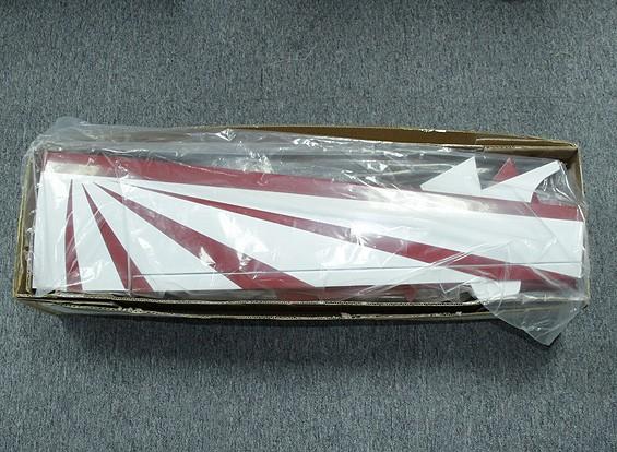 SCRATCH / DENTフルニエRF-5バルサ電気スケールグライダー1550ミリメートル(ARF)