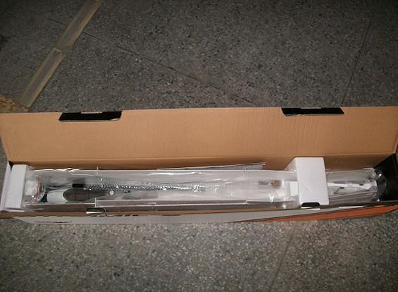 SCRATCH / DENT  -  Duraflyダイナミック-SのパフォーマンスV-テールグライダーの1560ミリメートルEPO(PNF)