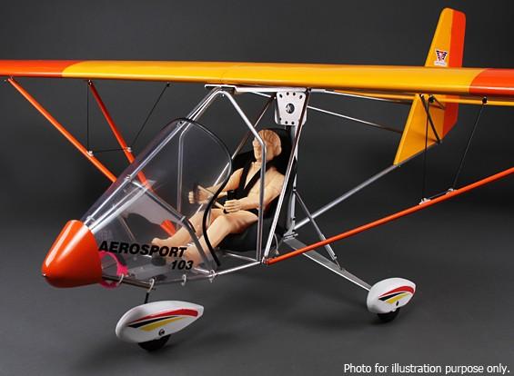 SCRATCH / DENT  -  Aerosport 103 GP / EPスケール超軽量バルサ2390ミリメートル(ARF)