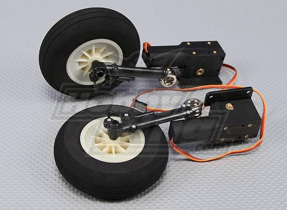 SCRATCH / DENT  -  B-17メンフィス・ベル1875ミリメートルのためのリトラクトセット