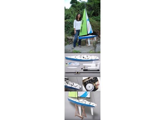 RCオーシャン・レーシングヨット2.2メートルを行きます