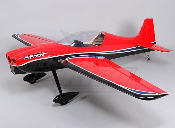 Hobbyking Sbach 342赤黒ガスした30cc 1850ミリメートル(ARF)
