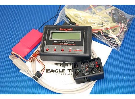 シーガルPROワイヤレスダッシュボードフライトシステム、2.4GHz帯