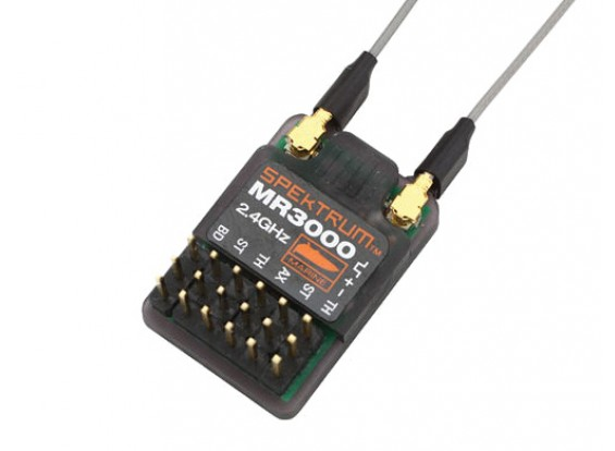 MR3000マリン2.4GHzの3チャンネル受信機