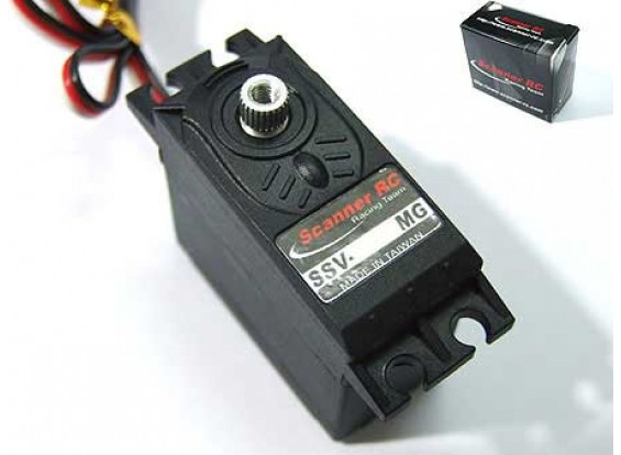 SCR 48グラム/ 7.4キロセンチ/ .11secメタルギアサーボ