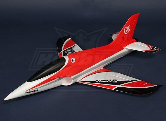 スティンガー64 EDFスポーツジェット700ミリメートルレッドEPO(ARF)